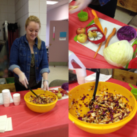 Eat Smart New York Nutritionist Molly Howell prepares food during a demonstration on healthy eating. She will be at Prendergast Library for a series of five classes starting at 11 a.m. Monday, Sept. 19.