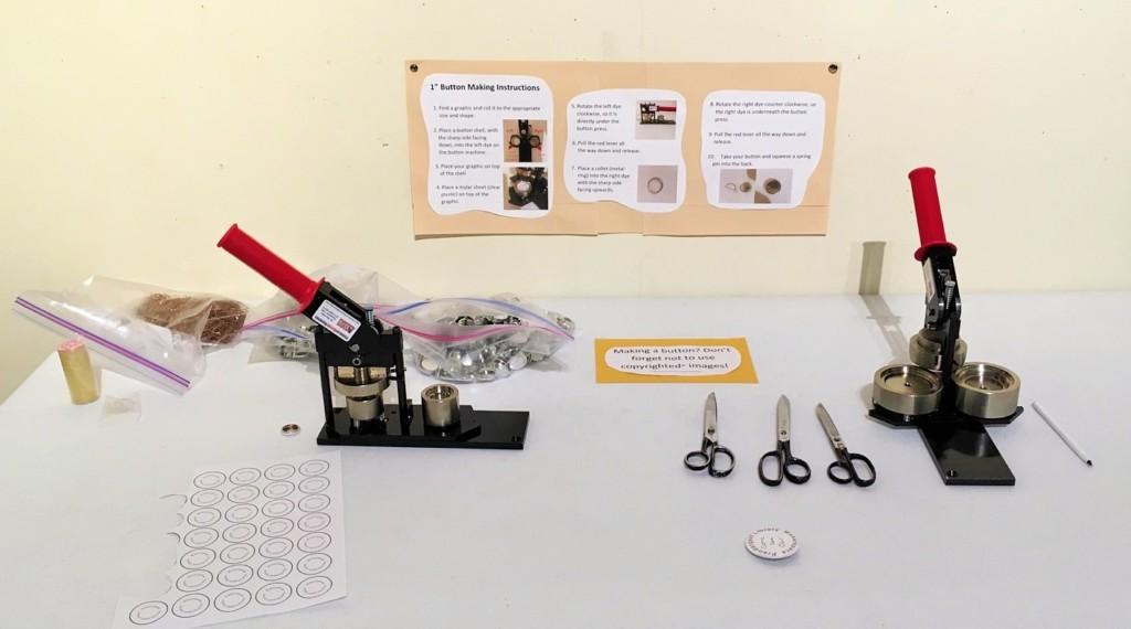 Button maker instructions