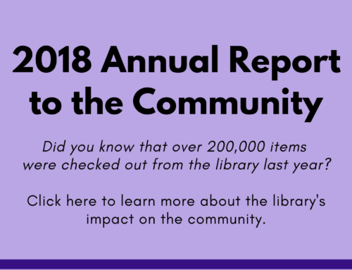 Library Usage in 2018