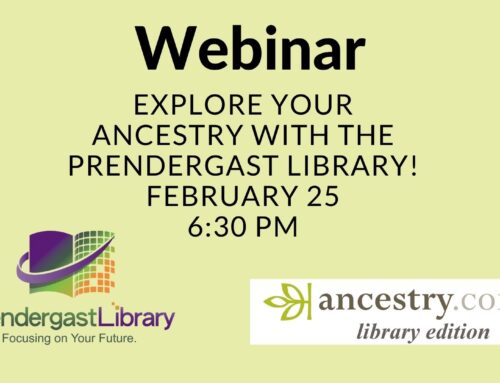 "Register Today for ""Explore Your Ancestry"" Webinar"