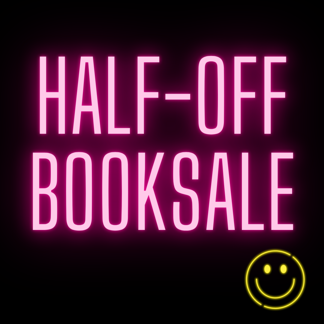 Half off booksale